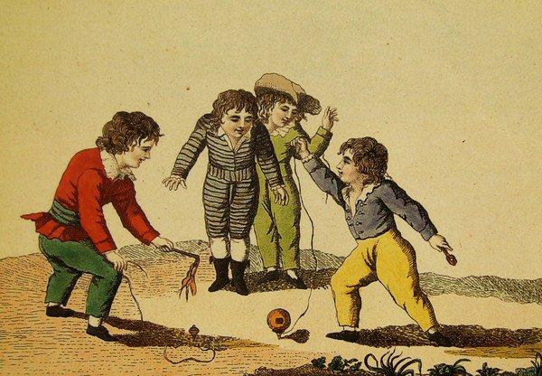 Allons, les enfants, allez jouer dehors...
