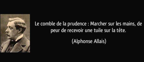 Citation du jour... d'Alphonse Allais  (1854-1905)