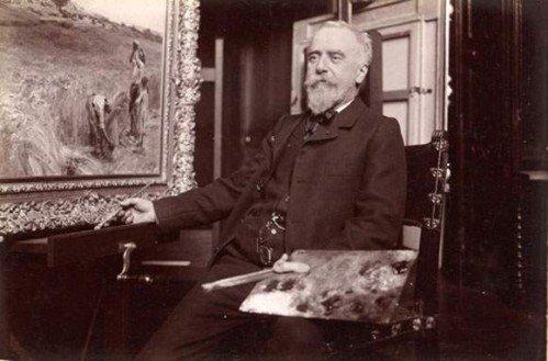 Hommage à Léon-Augustin Lhermitte  né le 31 juillet 1844 - mort le 28 juillet 1925