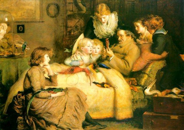 Hommage à John Everett Millais  mort le  13 Août 1896   (1829-1896)
