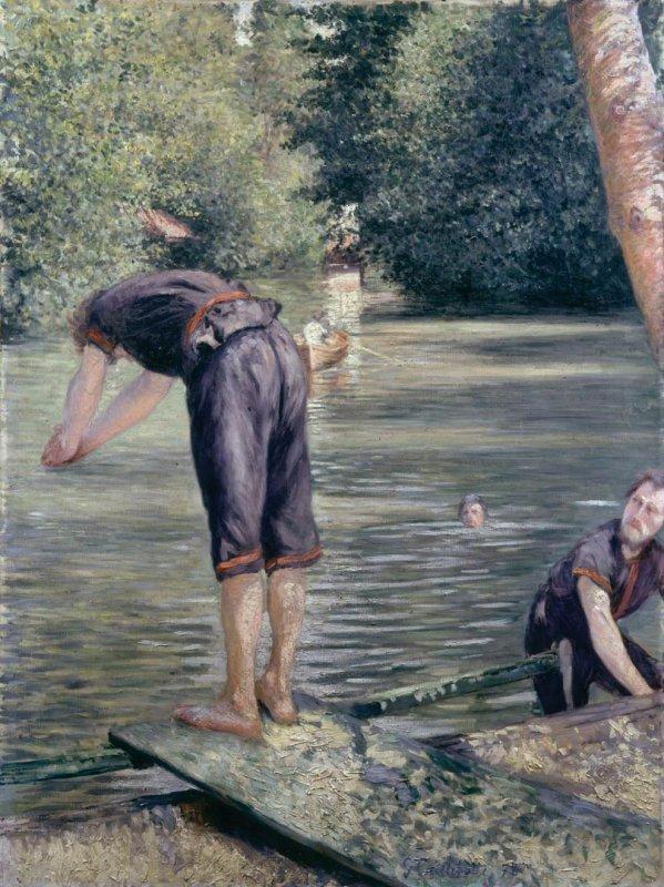 Hommage à Gustave Caillebotte   (1848-1894)  né le 19 Août 1848