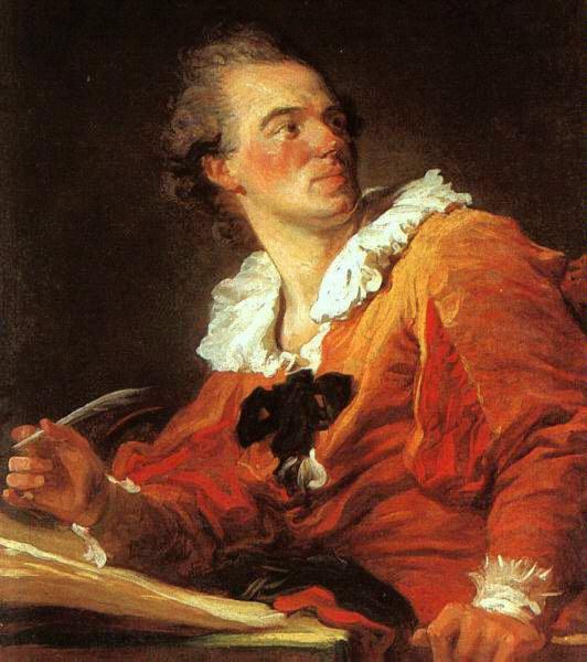 Jean-Honoré Fragonard   (1732-1806)   mort le 22 Août 1806