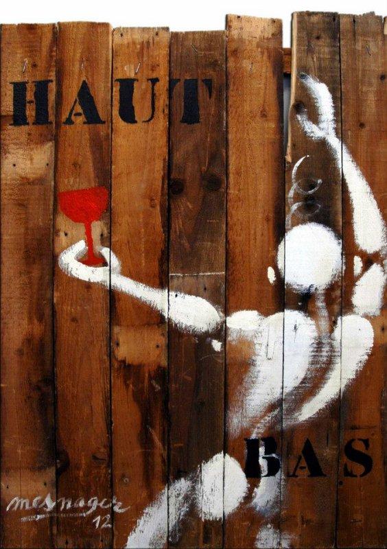 Street art, un art accessible à tous ceux qui passent dans la rue ou ceux qui y vivent...
