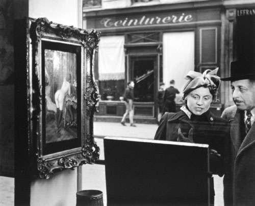 Regards obliques... d'adultes   -   Robert Doisneau  (1912-1994)