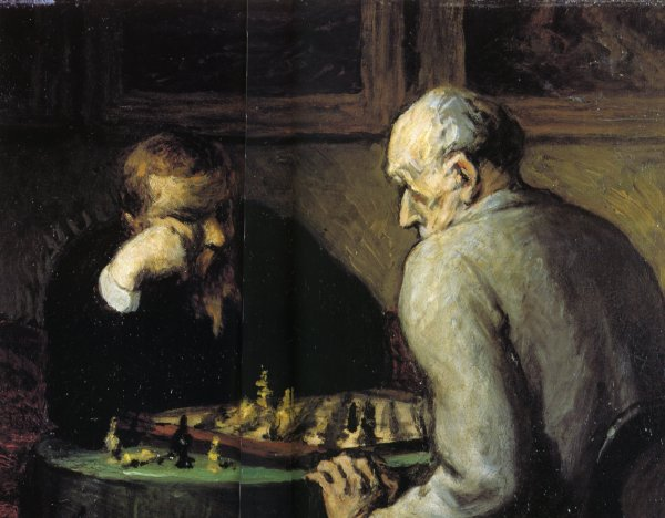 Un peu de poésie avec Esther Granek,  le jeu  d'échecs