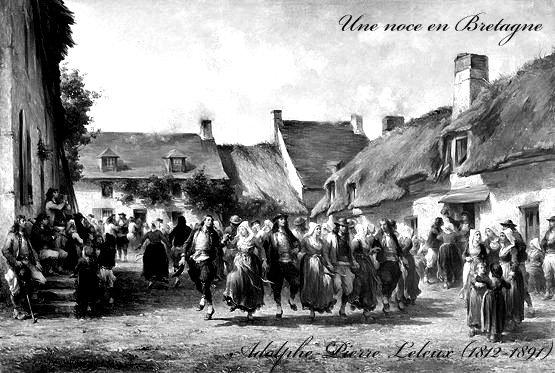 Noces d'antan en Bretagne