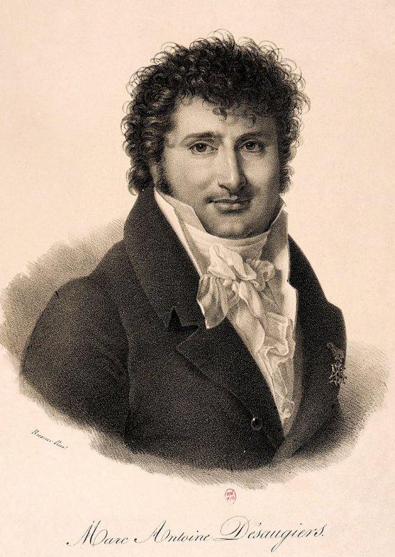 Marc-Antoine-Madeleine Desaugiers  (1772-1827)