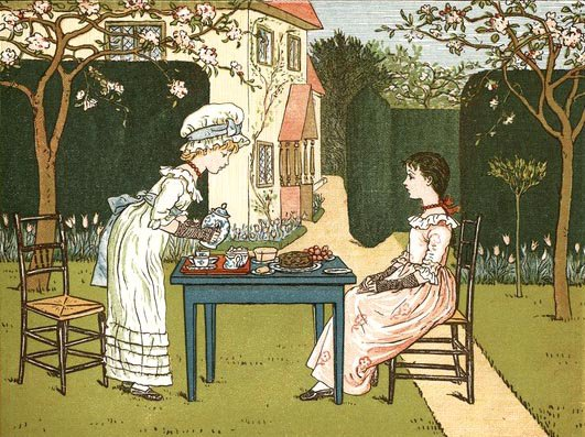 Kate Greenaway   (1846-1901)  écrivain et illustratrice anglaise