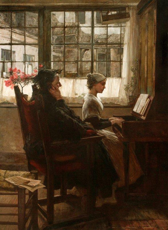 Coup de coeur du jour...  Walter Firle (1859–1929)