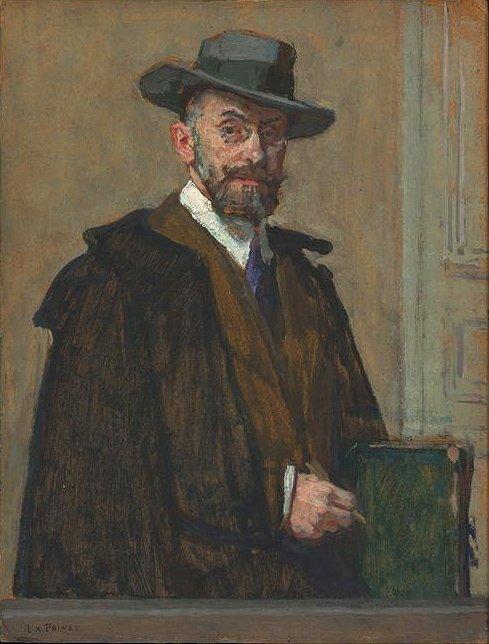 Hommage à René-Xavier Prinet   (1861-1946)  né le 31 décembre 1861