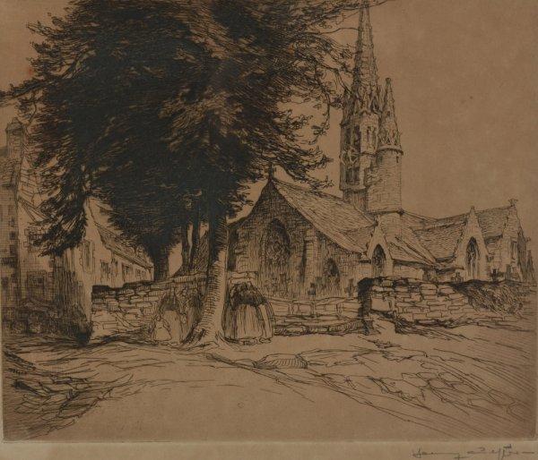 Hommage à Henry Cheffer   peintre graveur  né le 30 décembre 1880   (1880-1957)