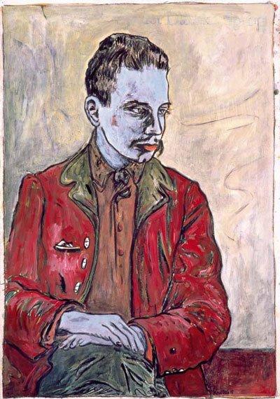 Hommage à Rainer Maria Rilke, écrivain autrichien  mort le 30 décembre 1926   (1875-1926)