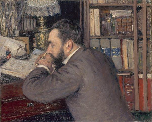 Hommage à Gustave Caillebotte  mort le 21 février 1894  (1848-1894)