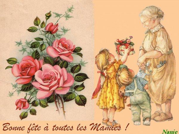 Bonne Fête à toutes les Grand'Mères du Monde !