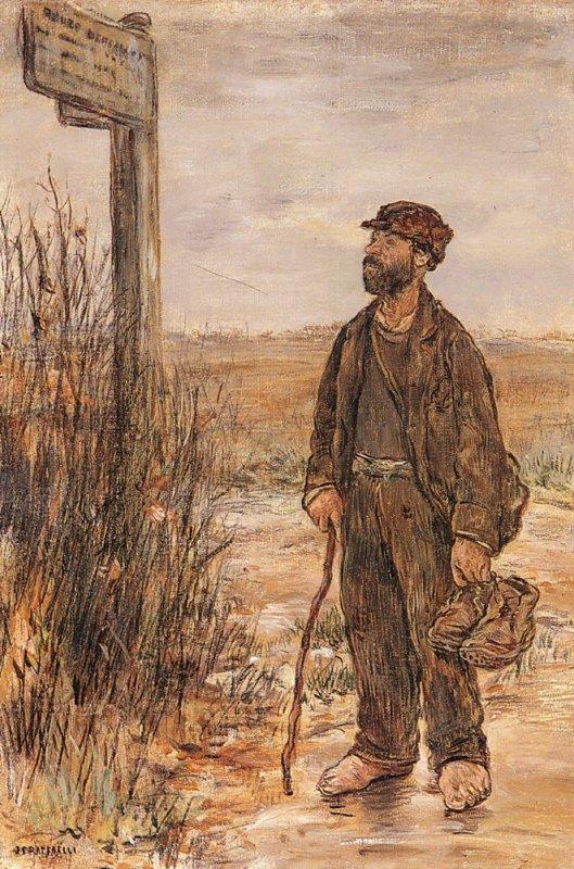 Hommage à Jean-François Raffaelli   (1850-1924)  mort le 29 février 1924