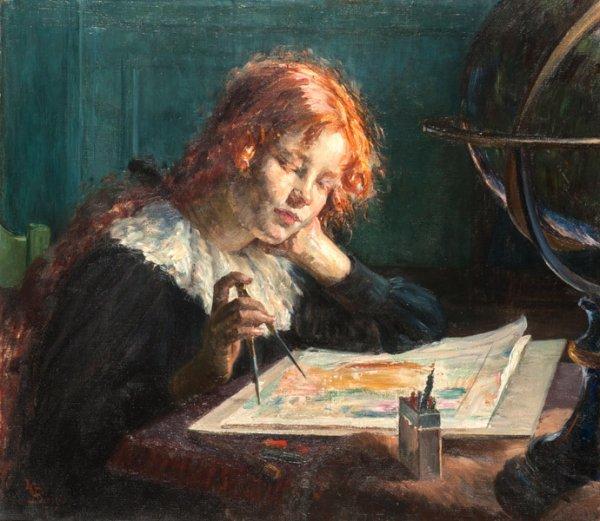Louise Catherine Breslau   (1856-1927) Artiste peintre