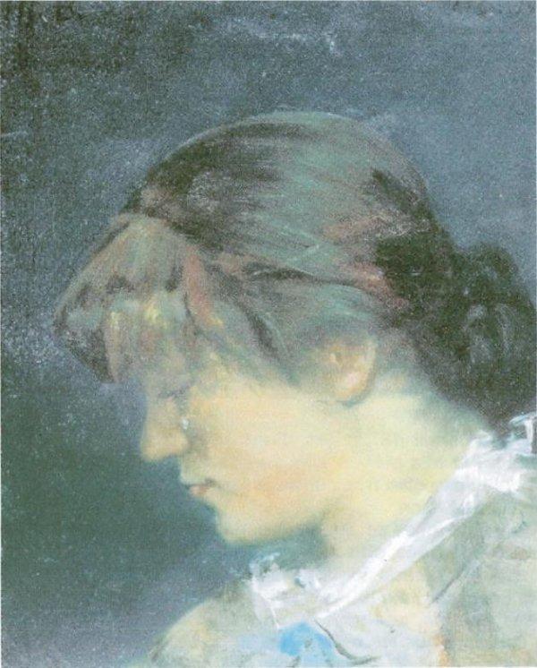 Marie Bashkirtseff  (1858-1884)  -  Artiste peintre