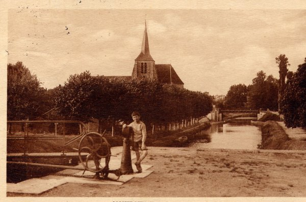"""Extrait de ma collection de cartes postales anciennes  """"Géographie""""  Canaux"""