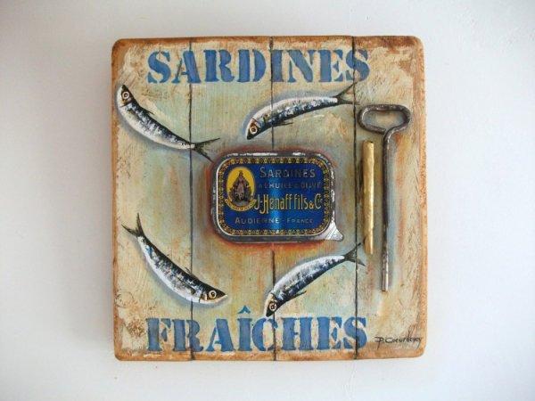 Les sardines en boîtes ont plus de 2 siècles...