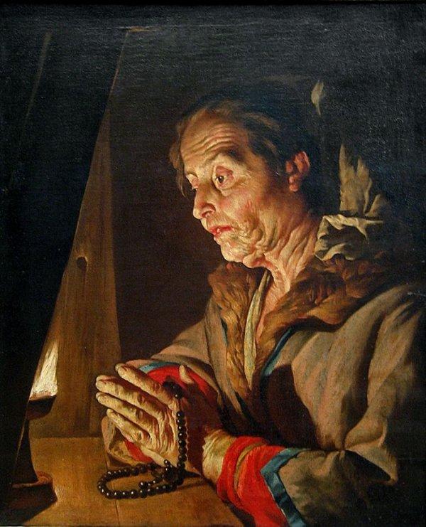 Coup de coeur du jour...  Nicolas Maes (1634–1693)