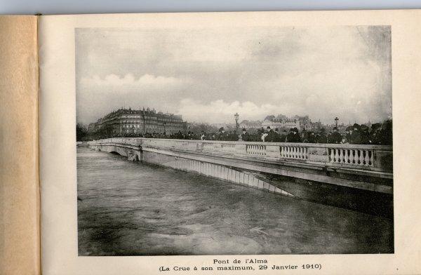Paris inondé  (29 janvier 1910)