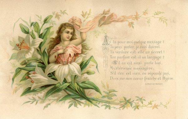 Un peu de poésie avec Alfred de MUSSET   (1810-1857)