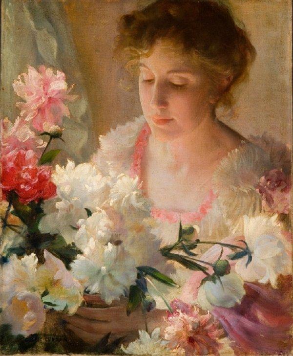 Coup de coeur du jour...  Charles Courtney Curran (1861-1942)