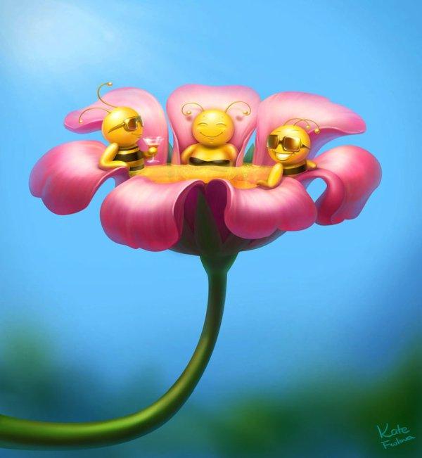 Des fleurs autrement...