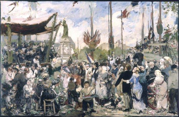 Alfred-Philippe Roll  (1846-1919)   Bon 14 juillet !