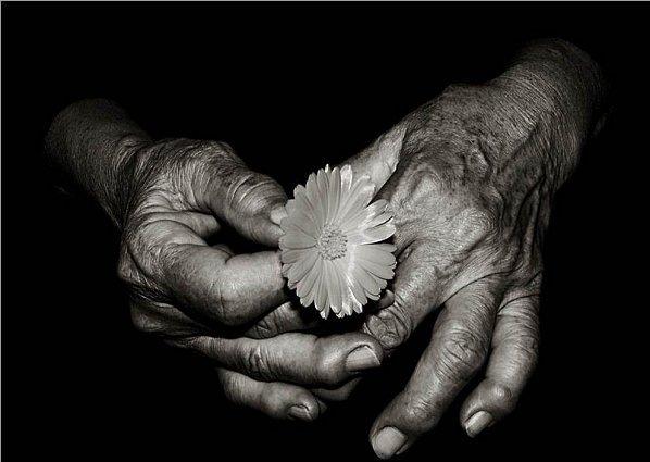 """Hommage à une formidable Vieille Amie qui a pris """"le dernier chemin""""  hier... elle avait 102 ans..."""