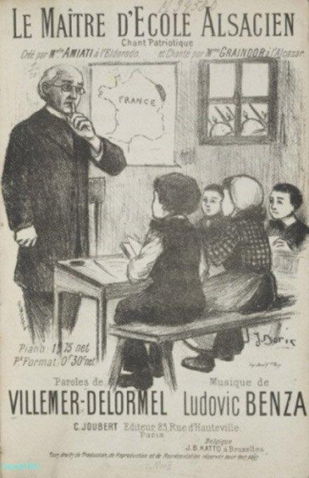 Bourvil   -  Monsieur le maître d'école