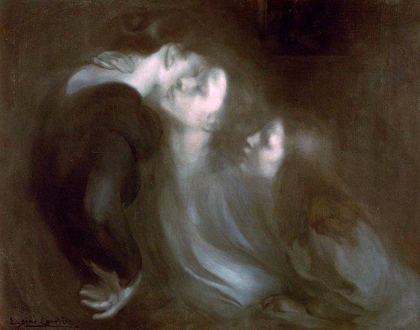 Coup de coeur du jour...  Eugène Carrière   (1849-1906)