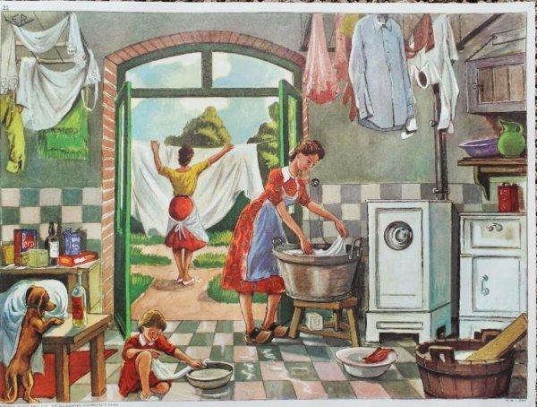 """Connaissez-vous l'origine de l'expression """"laver son linge sale en famille"""" ?"""
