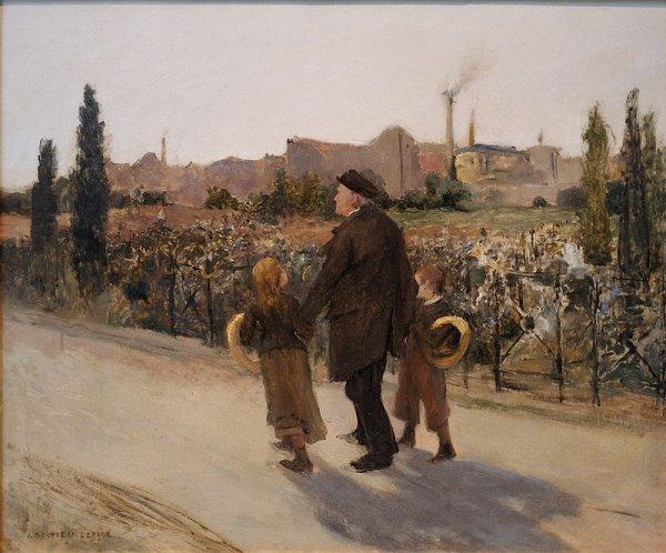 Bonne Fête de la Toussaint ! et hommage particulier à Jules Bastien-Lepage né le 1er Novembre 1848