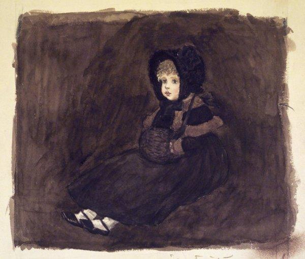 Hommage à Kate Greenaway morte le 6 novembre 1901   (1846-1901)