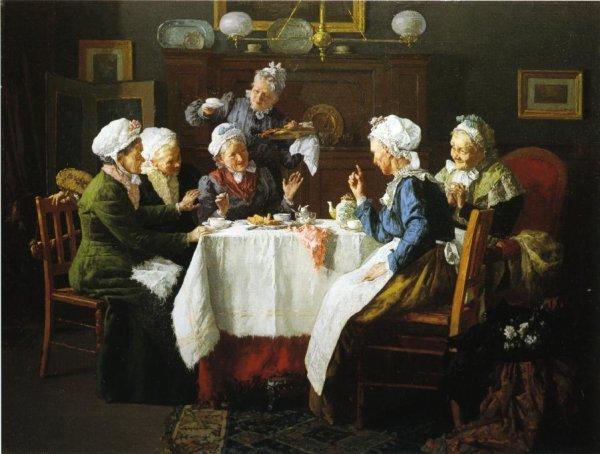 Louis-Charles Moeller, artiste peintre  mort le 11 novembre 1930   (1855-1930)