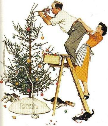 Les préparatifs de Noel ...