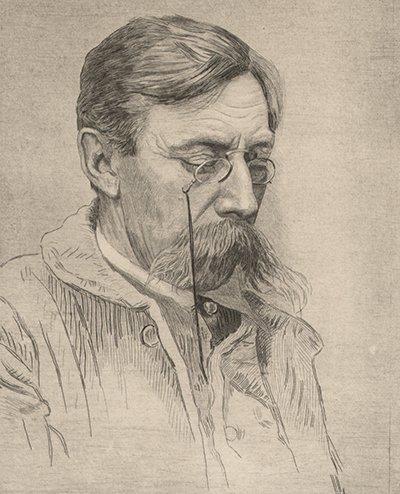 Hommage à Emile Verhaeren, mort accidentellement, écrasé par un train, le 26 novembre 1916   (1855-1916)