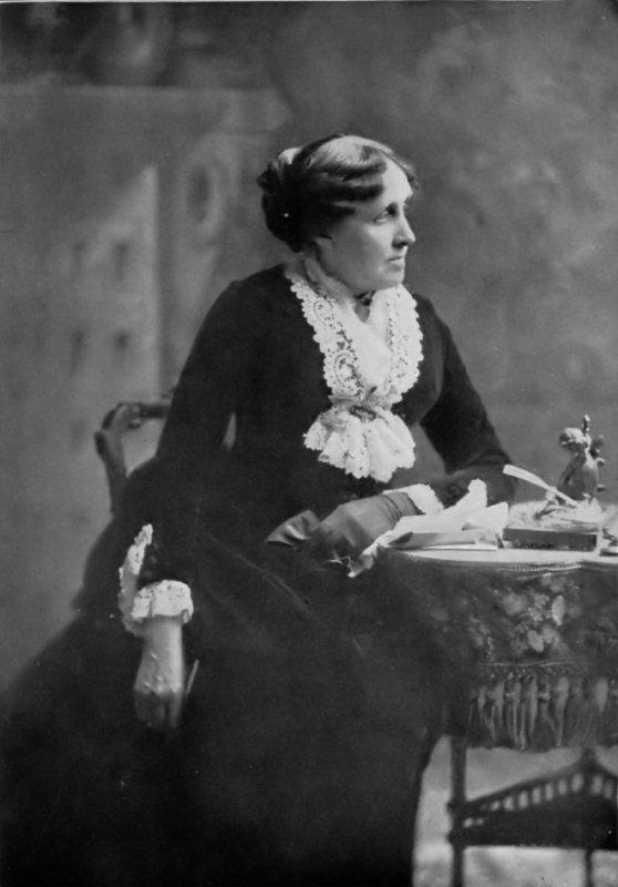 Hommage à Louisa May Alcott, romancière américaine née le 29 novembre 1832   (1832-1888)