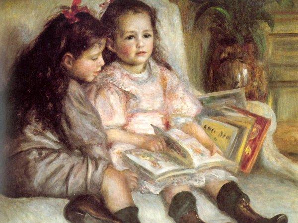 Les Enfants qui lisent...