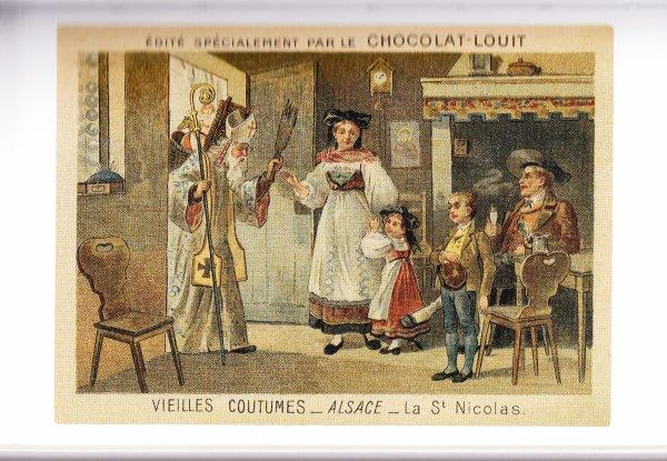 Vive  St Nicolas  !  et  Hommage à Nicole Courcel qui s'est éteinte il y a quelques mois