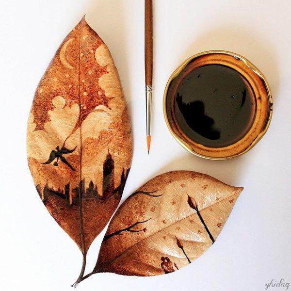 Une magnifique découverte avec les Oeuvres Caféinées de Ghidaq al-Nizar, artiste indonésien