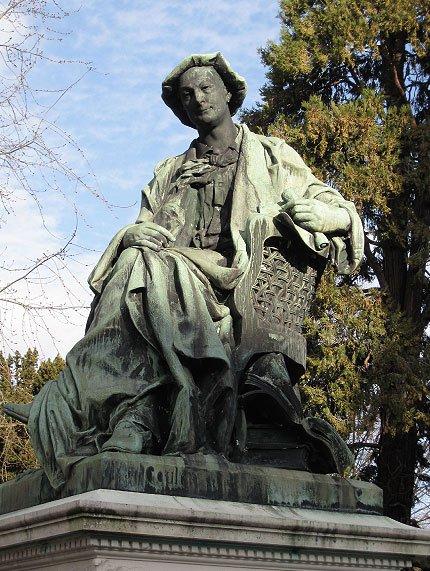 """Un peu de poésie avec Théodore de Banville, surnommé """"le poète du bonheur""""   (1823-1891)"""