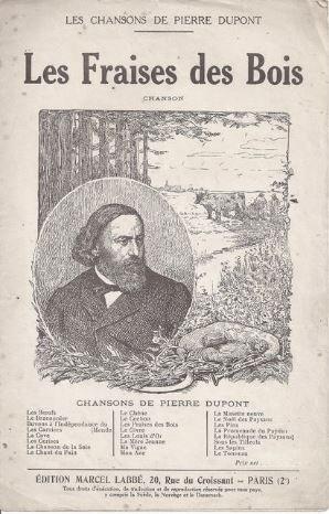 Un peu de poésie avec Pierre Dupont (1821-1866), poète et chansonnier français