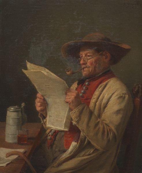 Hommage à August Friedrich Siegert  mort le 13 octobre 1883 (1820-1883)