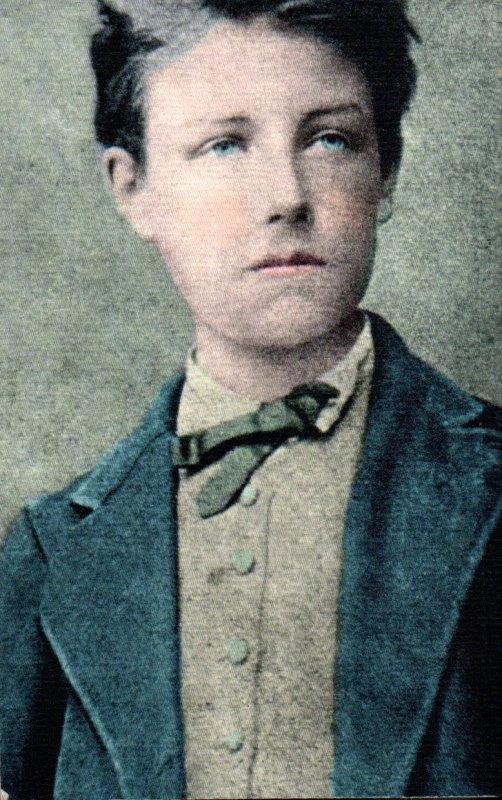 Un peu de poésie avec Arthur Rimbaud  né le 20 octobre 1854  (1854-1891)