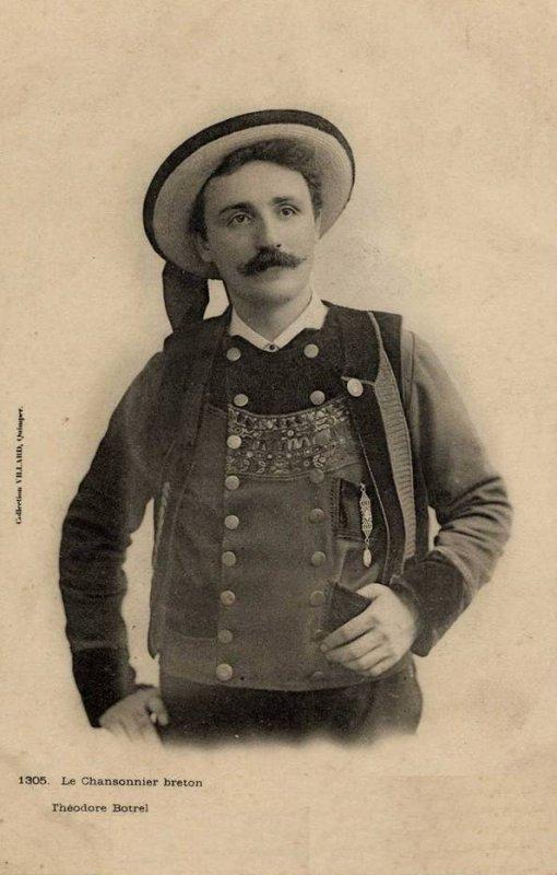 Un peu de poésie avec Théodore Botrel   (1868-1925)