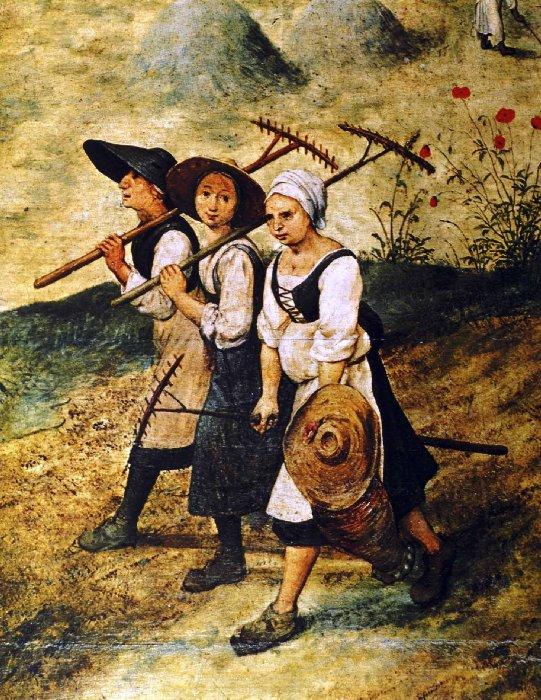 """""""Les foins"""" ont inspiré les peintres... mais également les écrivains..."""