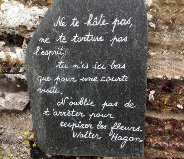 Citation du jour de Walter Hagan