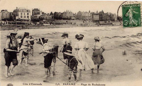 Extraits de ma collection de cartes postales anciennes pour illustrer la venue de l'ETE